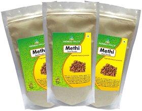 Herbal Hills Methi Seed Powder  - 300 g Pack Of 3