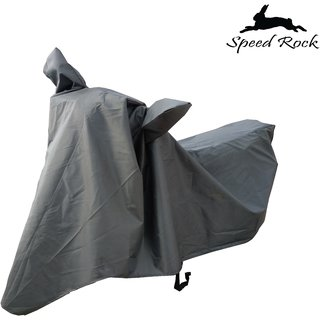 Bajaj Discover 125 Grey Durable Bike Cover