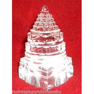 Buy ORIGINAL Sphatik Shree Yantra / Quartz Crystal Shri
