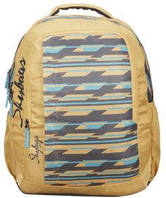 Skybags Footloose Helix 04 School Bag Yellow