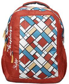 Skybags Footloose Helix 06 School Bag Red