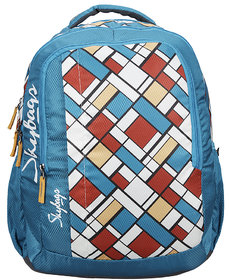 Skybags Footloose Helix 06 School Bag Blue