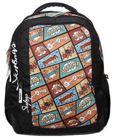 Skybags Footloose Helix Plus 01 School Bag Blk