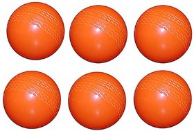 Port Wind Orange Cricket Ball (pack of 6)