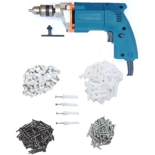Dee Power 10mm Drill With Home Used Kit