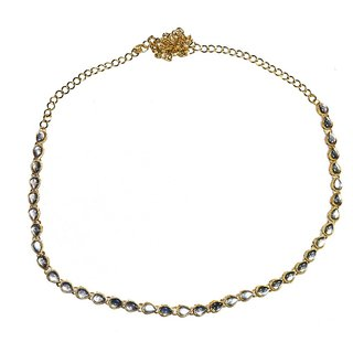 Jewels Kafe Kamar Bandh Gold Plated Belly Chain Kamarband for Women
