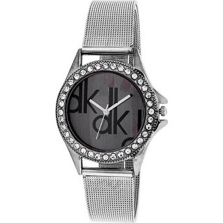 Mantra Black Dk Stylist Watch For Girls