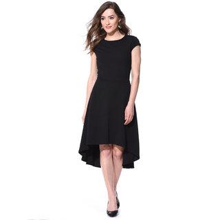 Buy AARA Black Solid High low Dress For Women Online - Get 44% Off 226cd890e4