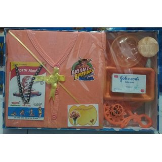 7333a83533a00 Buy New Born Baby Gift Set With 8 Items Online   ₹299 from ShopClues