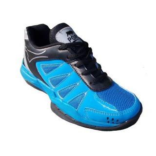 Aryans Mens Ritz Max Sky Blue Pvc Badminton Sports Shoes