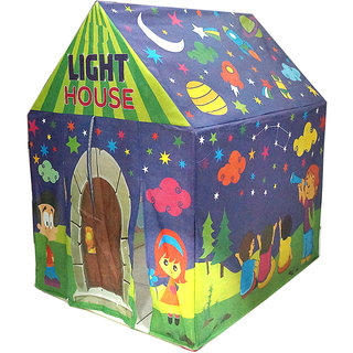 Muren Fluorescent LED light tent house for kids 3+