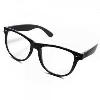 Royal Son Square Spectacle Frame For Men and Women (Transparent Lens)