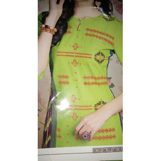 Valas Clothing Ethnic Wear Designer Stylish Reyon Cotton Print Kurtis Collection Xl