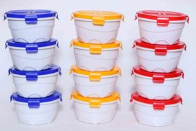 Combo Unique four lock  Air Tight Containers Set of 12
