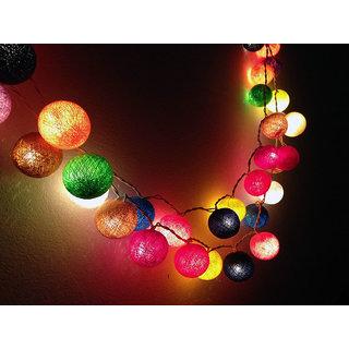 Decorative Cotton Ball Lights