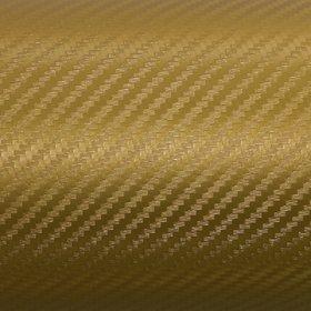 Nawab Golden Carbon Vinyl Car Wrap Sheet Roll Film Sticker Decal (12X24)Inch