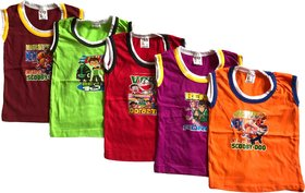 Summer TShirts for Babies 6 to 12 months - 5 Pieces