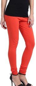 Orange Lycra Leggings