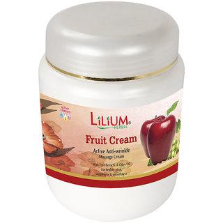 Lilium Fruit Active Anti- Wrinkle Massage Cream 900g