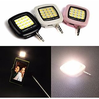 Selfie Flash LED Light With 16 LED to Take Clear Image in Night With 6 Months Warranty