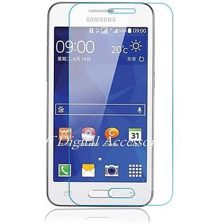 For Samsung Galaxy Core 2 / SM-G355H {Pack of 2} Screen Protector Tempered Glass Anti-Scratch Oil Coated Washable HD screen Guard