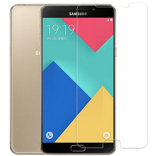 For Samsung Galaxy A9 {Pack of 2} Screen Protector Tempered Glass Anti-Scratch Oil Coated Washable HD screen Guard