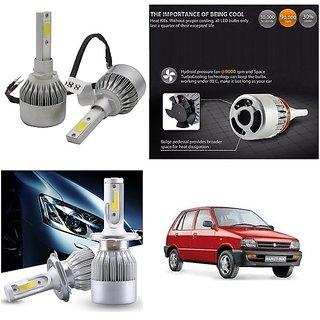 Trigcars Maruti Suzuki 800 Car LED HID Head Light H-4