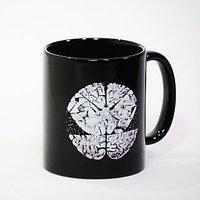 The Black Dot Ceramic Mug Black