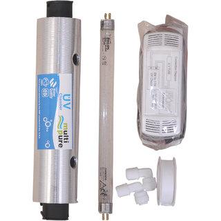 UV Set with UV Chamber+UV Tube Philips 11W + UV Chock + Taflon Tape + Elbow for RO UV Water Purifier