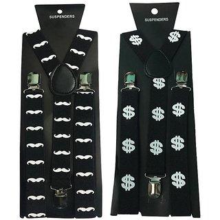Atyourdoor Y- Back Suspenders for Men(Pack of 2)