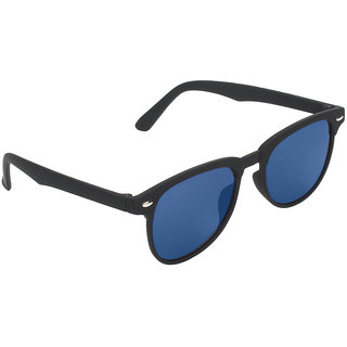 Zyaden Black Rectangular Sunglasses 167