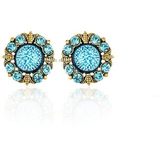Joel EP 502 Blue, Stylish earring Set  For Women and Girls
