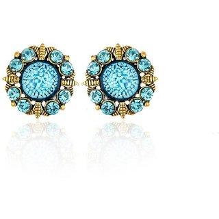 Joel EP 502 Blue, Stylish earring Set  For Women and Girls