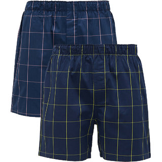 XYXX Men's Combed Cotton Boxer(Pack of 2)
