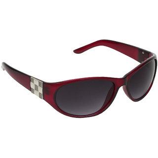 Zyaden Red Oval sunglasses for women 415