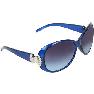 Zyaden Blue Round sunglasses for women 420