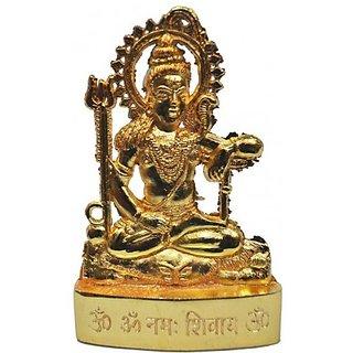 Gold plated Shankar Idol - 7 cms