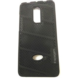 SAVINGUP Net (Jaali) Mesh Hard Back Shell Case Cover For Redmi Note 4 (BLACK)