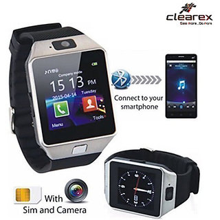 Clearex Smartwatch with SIM card slot 32Gb Memory card slot and Fitness Tracker