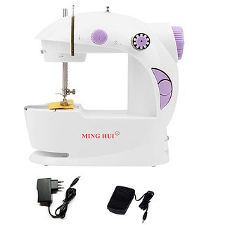 CreativeVia 4in1 Portable Compact Electric Mini Sewing Machine