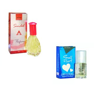 Combo  Sandal - Small Blue Heart- 50ml