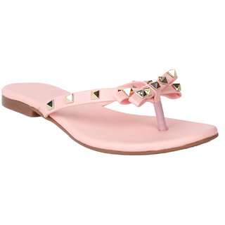 Buy Do Bhai Women s Pink Flats Online - Get 8% Off 378db227c9