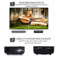 Home Cinema Theater Portable Mini Projector 1080P LCD V