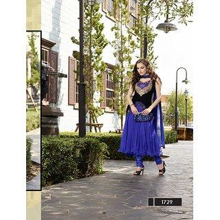 Thankar New Style Designer Heavy Blue Embroidery Anarkali Suit