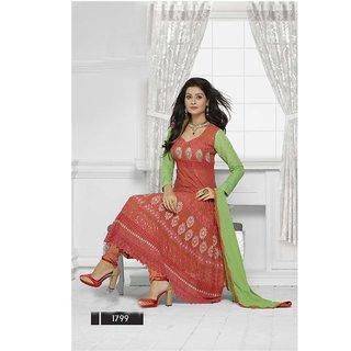 Fabliva Fabulous Latest Heavy Designer Red Anarkali Suits
