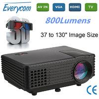 Portable Mini Projector RD805 LED Projector 800x600 Res