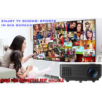 Hot Sale RD805 USB AV SD HDMI VGA TV Tuner Projectors F