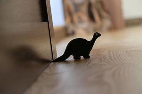 JaamsoRoyals  Dinosaur Design Small Non-Slip wooden Door Stoppers - To Stop Or Jam the Doors