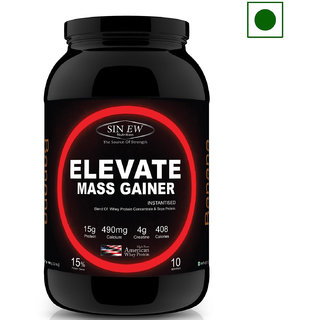 Sinew Nutrition Elevate Mass Gainer With DigiEnzymes, 3