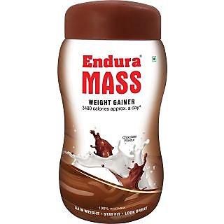 Endura Mass 500 gm + 100 gm free - Chocolate